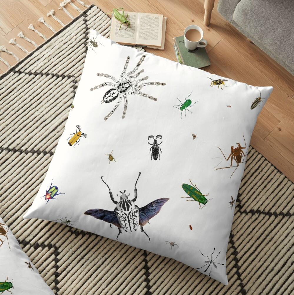 Entomologist's Dream Floor Pillow