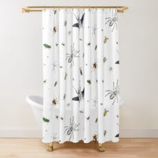 Entomologist's Dream Shower Curtain