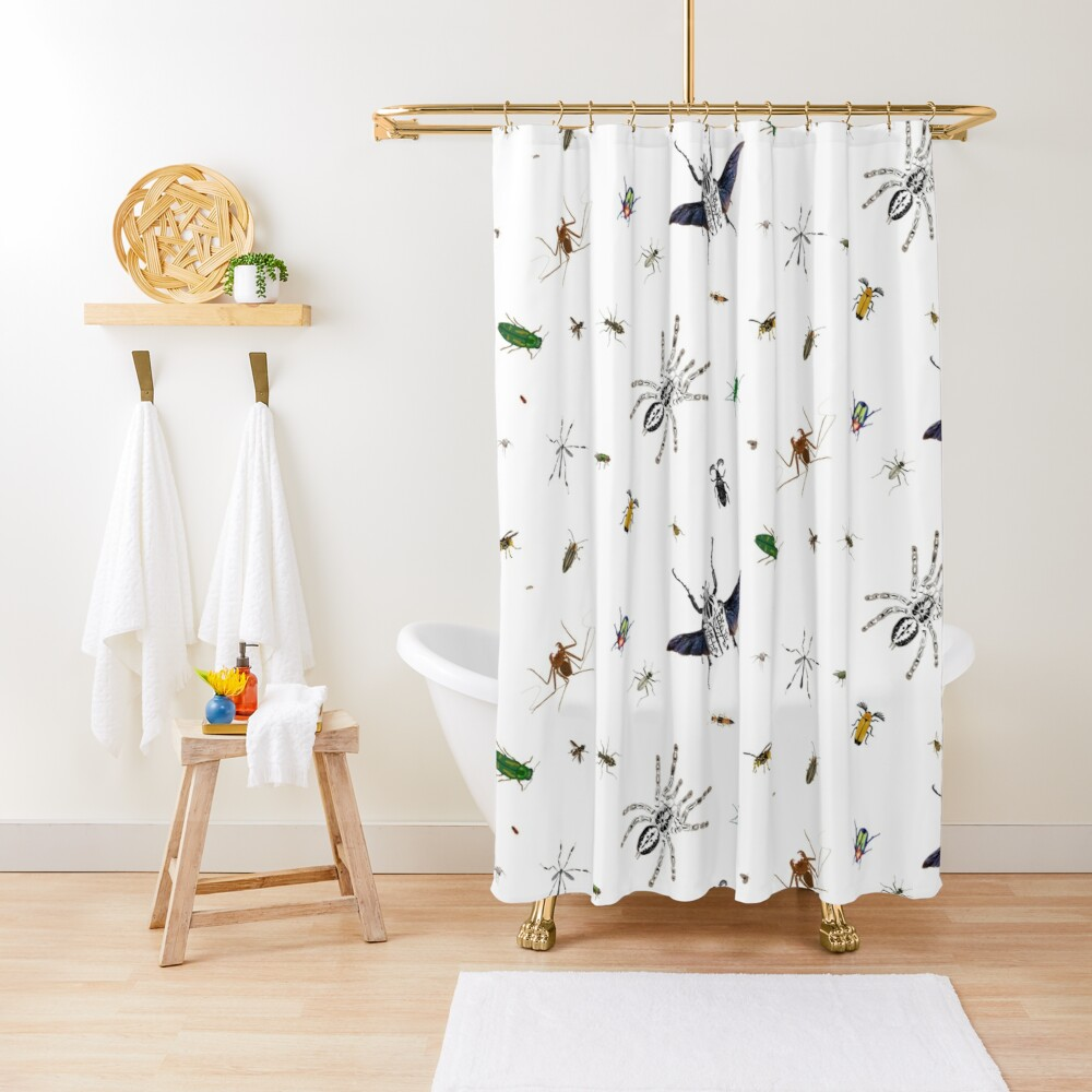 Entomologist's Dream Shower Curtain