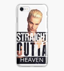 Spike- Straight Outta Heaven iPhone Case/Skin