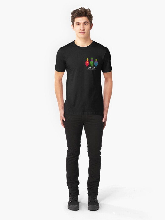 Alternate view of SPACE TEAM Slim Fit T-Shirt