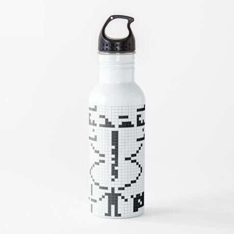 Arecibo Message 001 Water Bottle