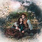 Liebhaber im Gras - Vera Adxer von Vera-Adxer