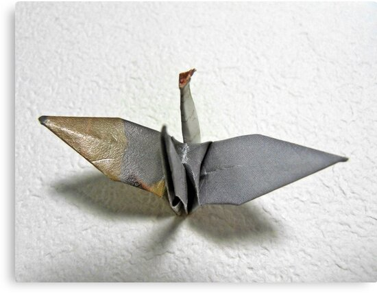 Origami-bird by cheeckymonkey