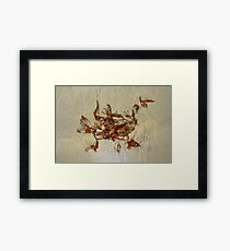 Life in the Sand Framed Print