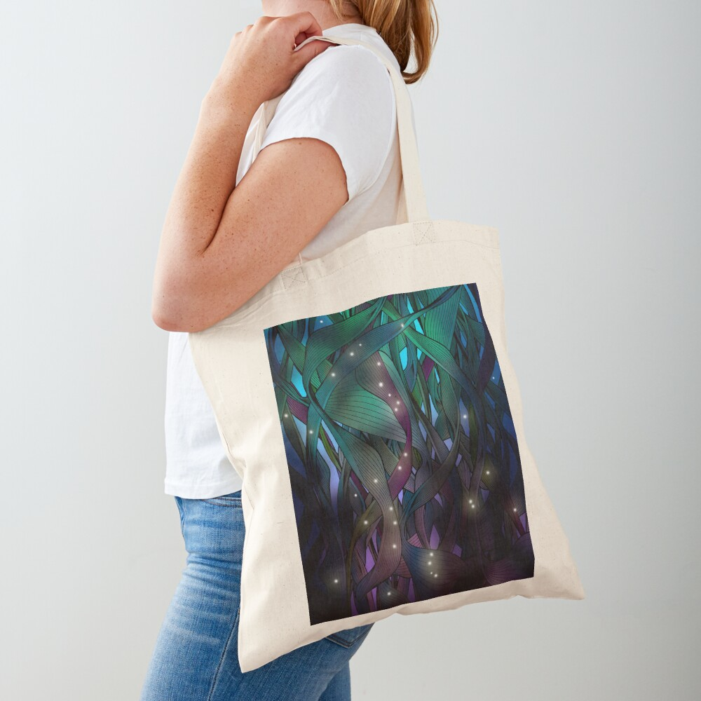 Nocturne (with Fireflies) Tote Bag