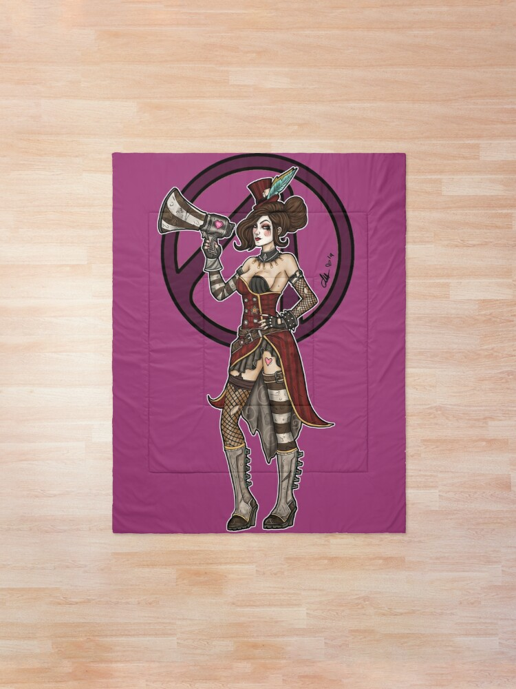 Alternate view of Mad Moxxi Borderlands 3 Comforter