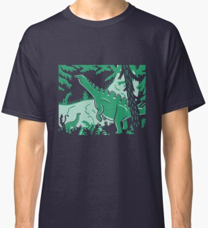 Long Necks - Blue and Green Classic T-Shirt