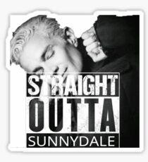 Spike- Straight Outta Sunnydale Sticker