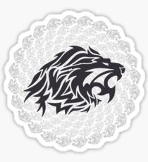 Stoic Lion - Stoic Symbol of Strength - Fight Chaos Sticker