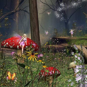 Fairy Forest  by RenderlyYours