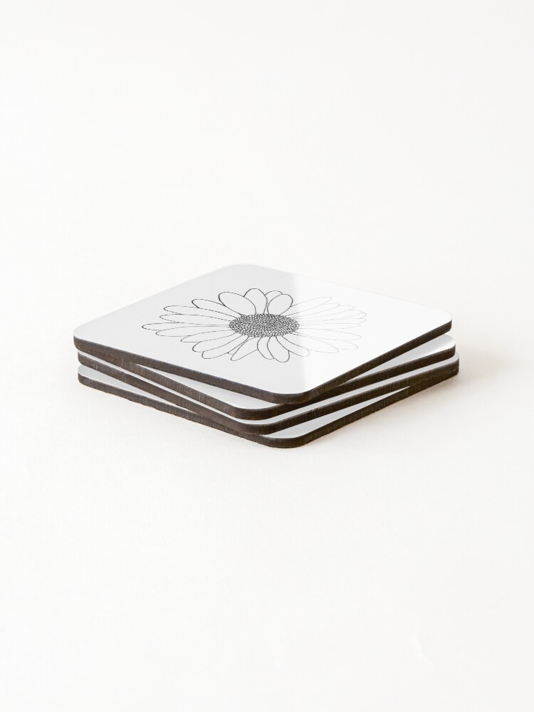 Alternate view of Daisy Coasters (Set of 4)