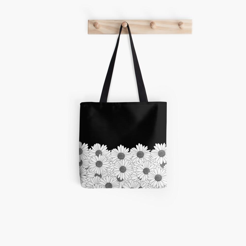 Daisy Boarder Tote Bag