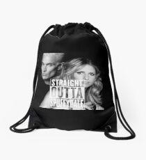 Straight Outta Spuffydale! Drawstring Bag
