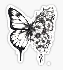 Shawn Mendes butterfly tattoo Sticker