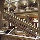 Stairs, Providence City Hall by endomental Artistry