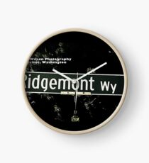 Ridgemont Way North, Shoreline, WA by MWP Clock