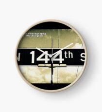 North 144th Street, Shoreline, WA by MWP Clock