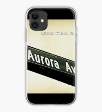 Aurora Avenue North, Shoreline, WA by MWP iPhone Case