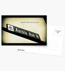 Aurora Avenue North, Shoreline, WA by MWP Postcards