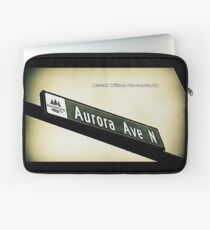 Aurora Avenue North, Shoreline, WA by MWP Laptop Sleeve