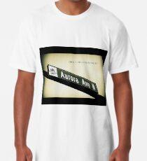 Aurora Avenue North, Shoreline, WA by MWP Long T-Shirt