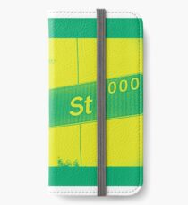 2000 South Hill Street, Neo Yellow, Seattle, WA by MWP iPhone Wallet/Case/Skin