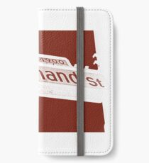 4900 South Ferdinand Street, Red Chocolate, Seattle, WA by MWP iPhone Wallet/Case/Skin