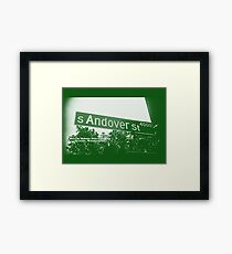 4000 South Andover Street, GREEN LARK, Seattle, WA by MWP Framed Print