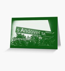 4000 South Andover Street, GREEN LARK, Seattle, WA by MWP Greeting Card