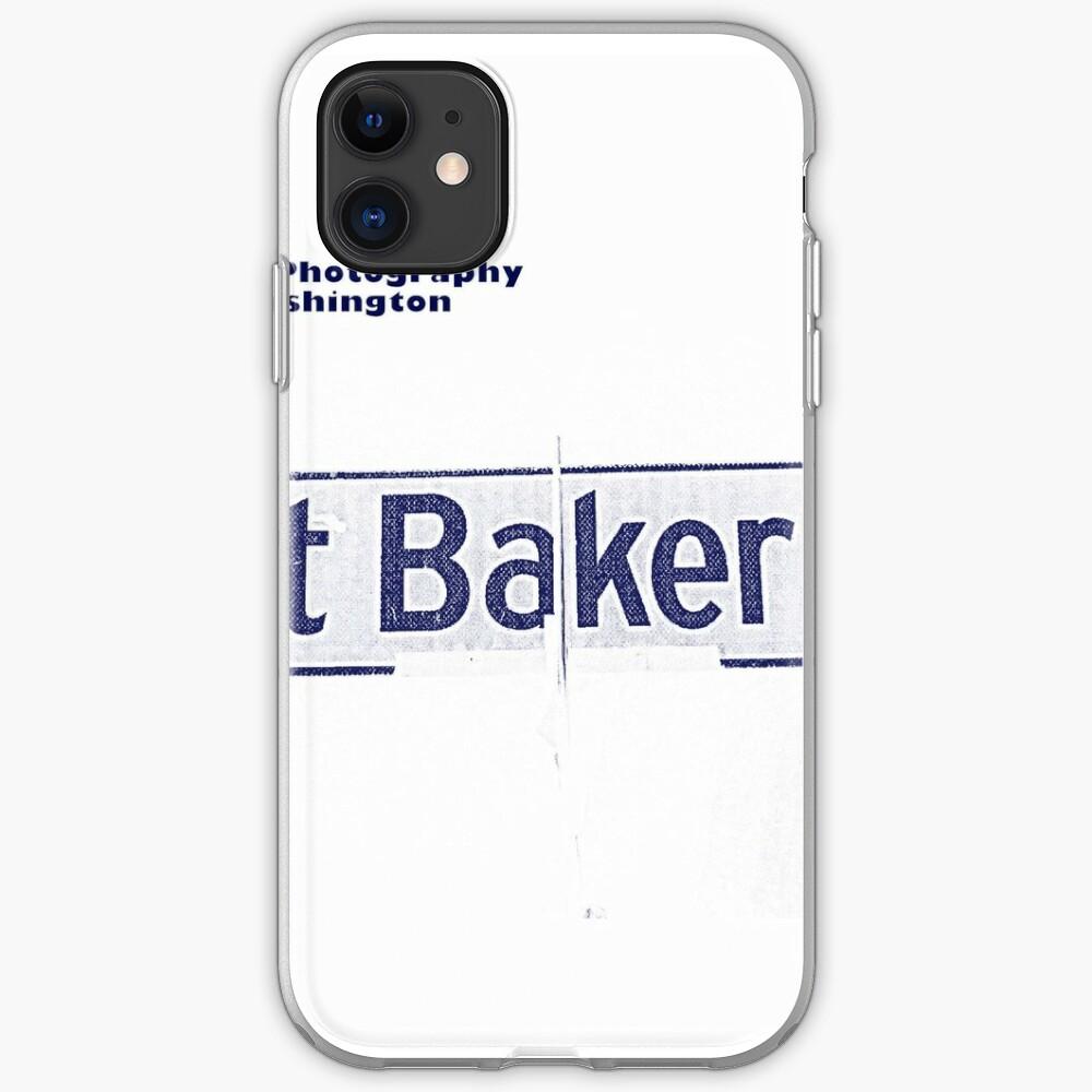 South Mount Baker Boulevard, Dark Ice, Seattle, WA by MWP iPhone Soft Case