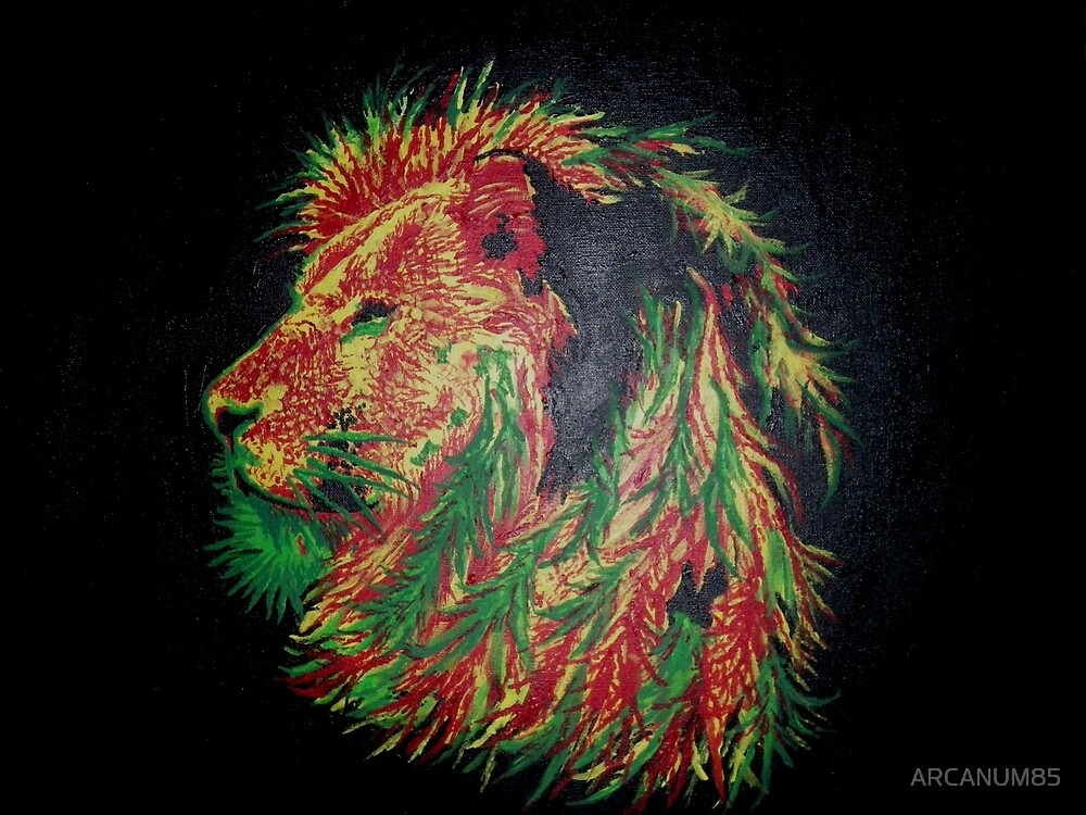 Rasta King by ARCANUM85