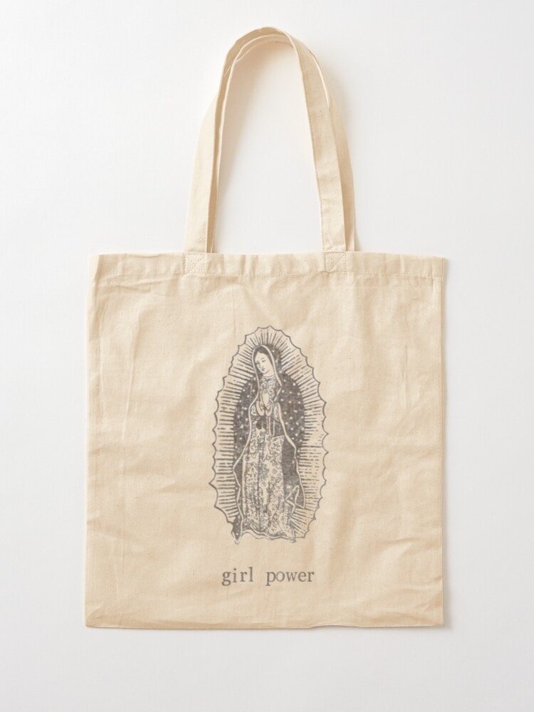 Alternate view of Girl Power Virgin Of Guadelupe Tote Bag