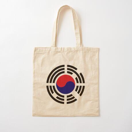 Korean Patriot Flag Series  Cotton Tote Bag