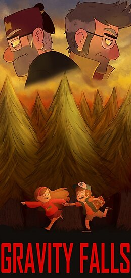 Quot Gravity Falls Quot Posters By Zimie Redbubble
