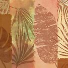 Tropical Leaves Collage by Maggie-Stilwell