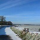 River in winter by ienemien
