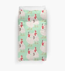 Chickens Duvet Cover