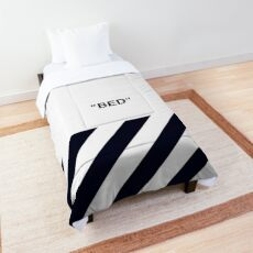 OFF-WHITE BLUE Comforter