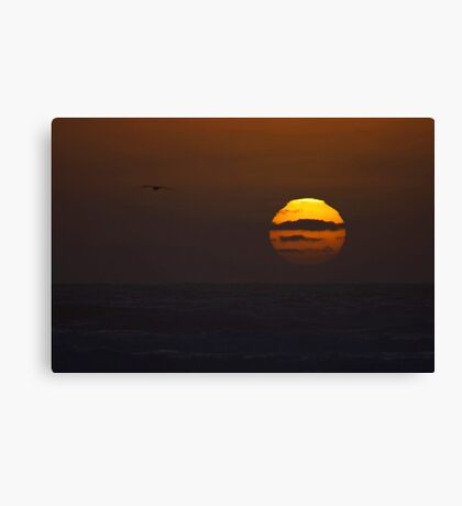"sunset ""painting"" Canvas Print"