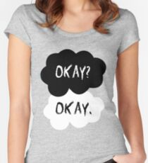 The Fault In Our Stars - Okay Women's Fitted Scoop T-Shirt