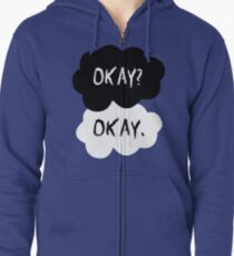 The Fault In Our Stars - Okay Zipped Hoodie