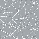 Abstract Dotted Lines Grey by ProjectM