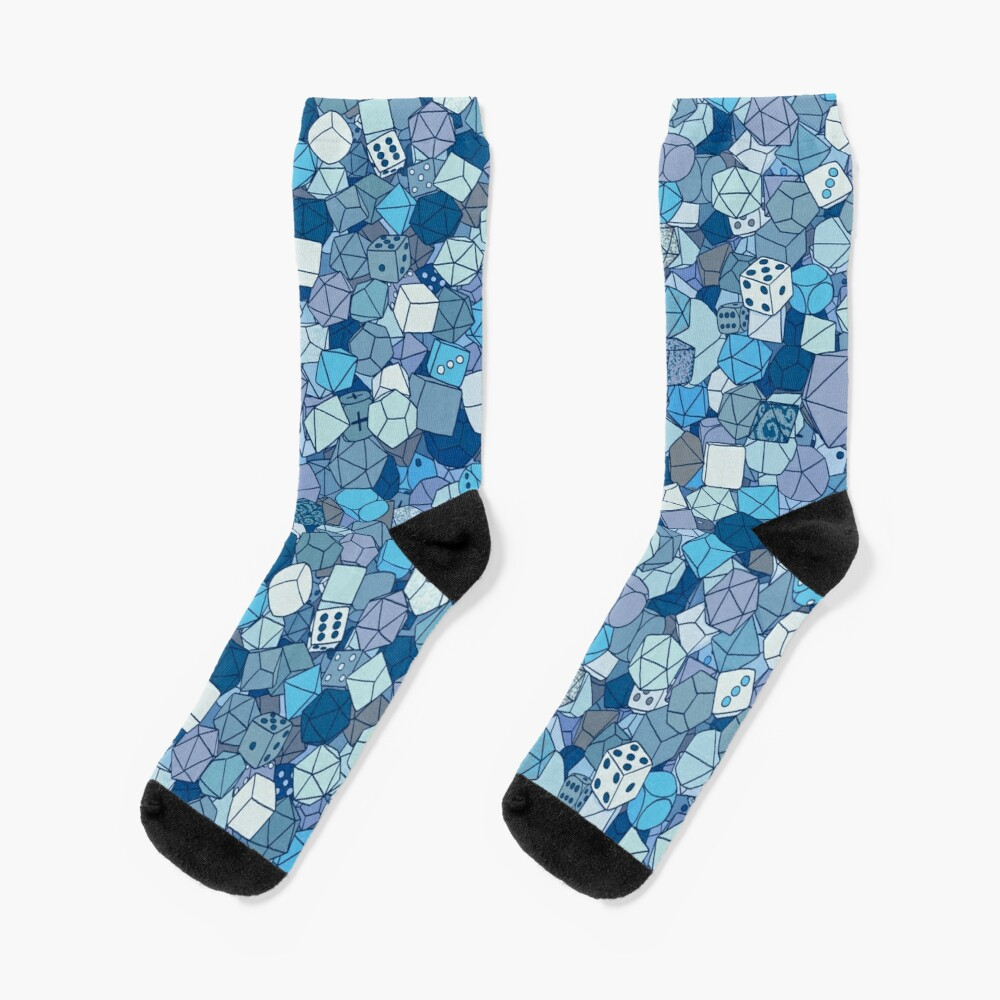 Frost Dice Socks