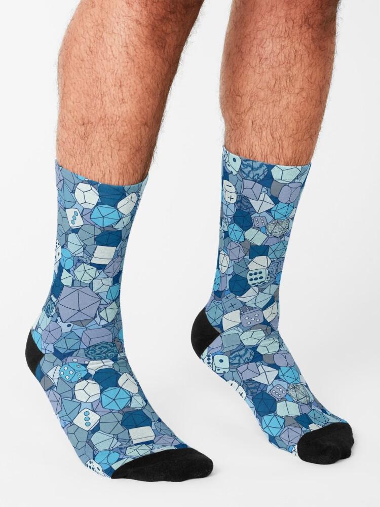 Alternate view of Frost Dice Socks