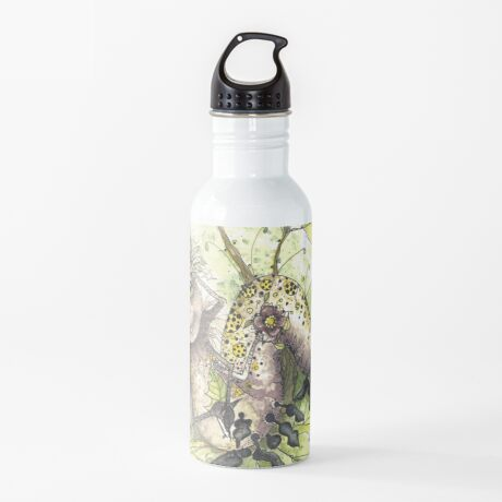 Peace, Love, and Flowers! Water Bottle
