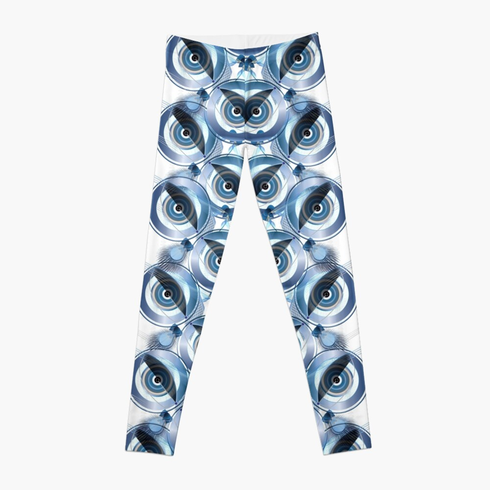 The wise Owl sees the Fox and the Bait Leggings