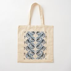 The wise Owl sees the Fox and the Bait Cotton Tote Bag