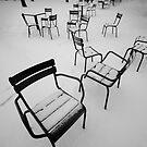 Paris in the snow by laurentlesax