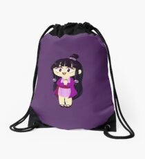 Purple Spirit Medium Drawstring Bag